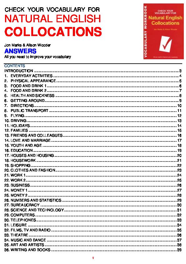 PDF) CHECK YOUR VOCABULARY FOR | xuan mai - Academia edu