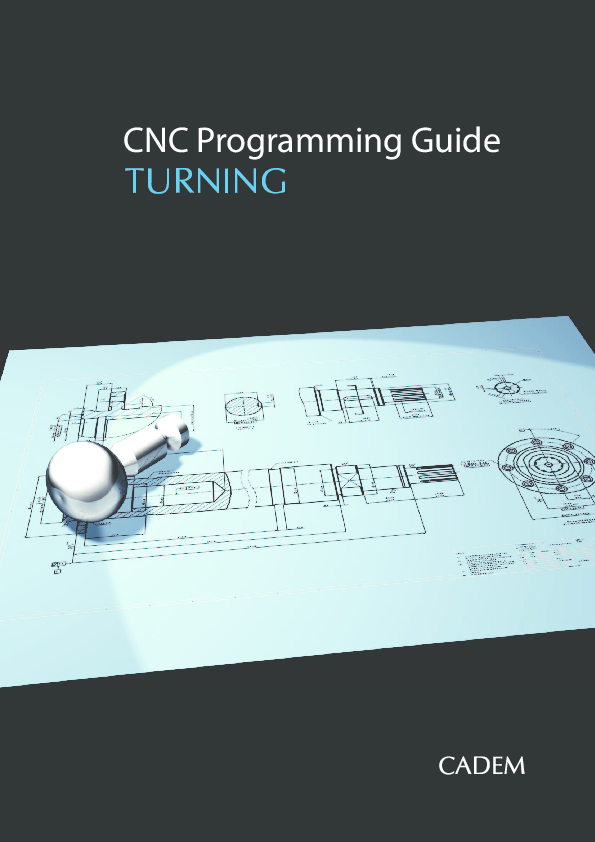 PDF) CNC Programming Guide TURNING | Jusuf Dizdarević