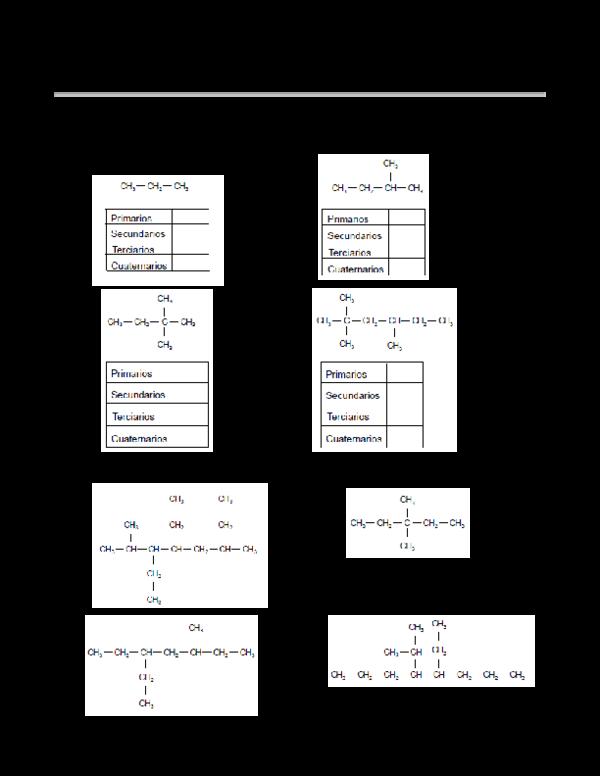 PDF) Guia de ejercicios de nomenclatura en quimica organica