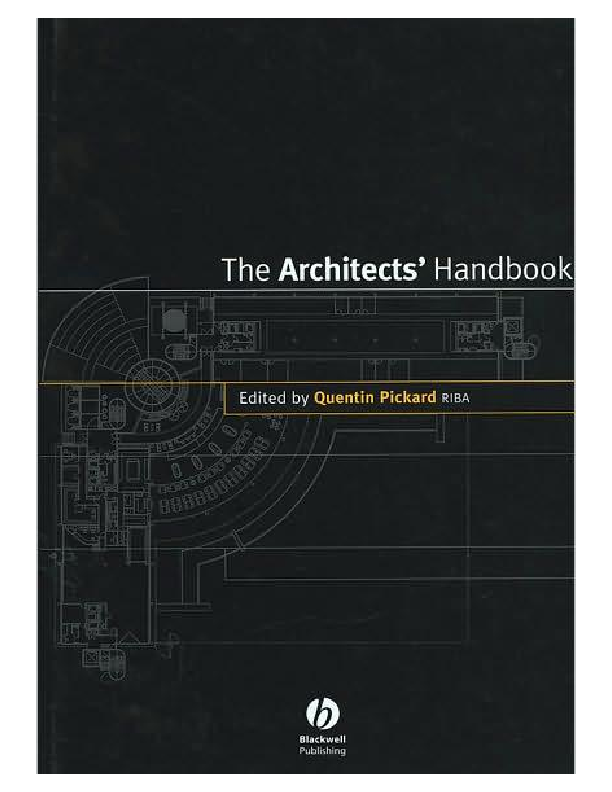 Architects Handbookpdf Camille J Mangaran Academia