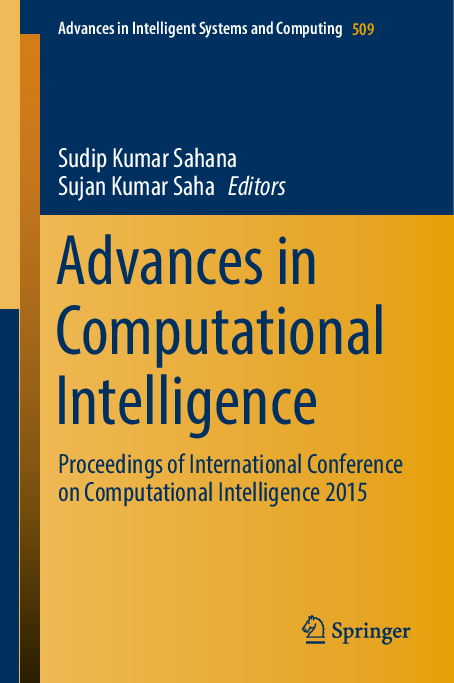 PDF) Advances in Intelligent Systems and Computing 509 | Ranjan