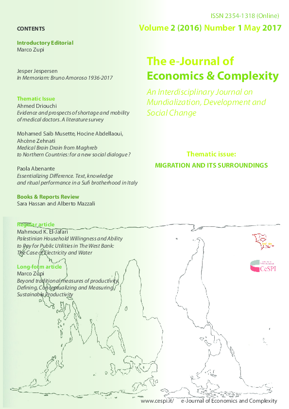 PDF) The e-Journal of Economics & Complexity (Volume 2/2016