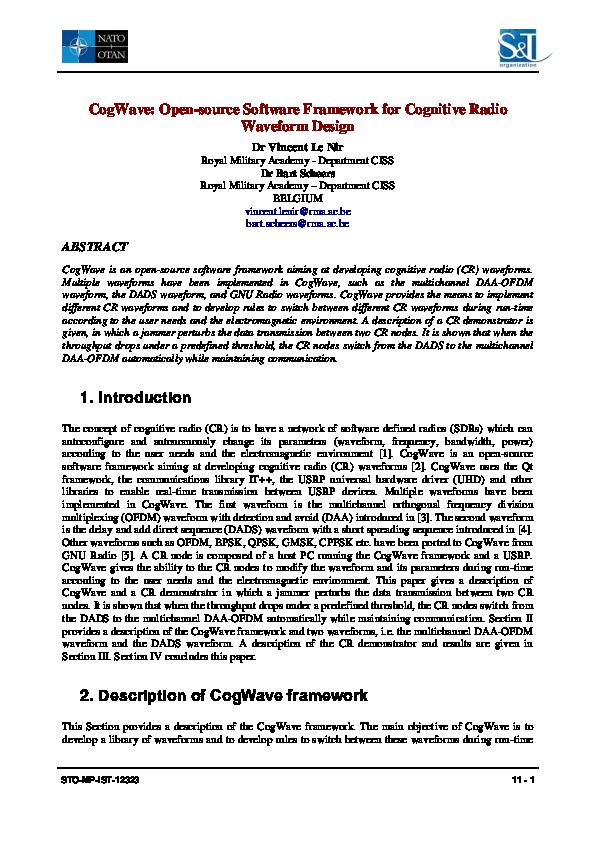 PDF) LeNir14a pdf | Vincent Le Nir - Academia edu