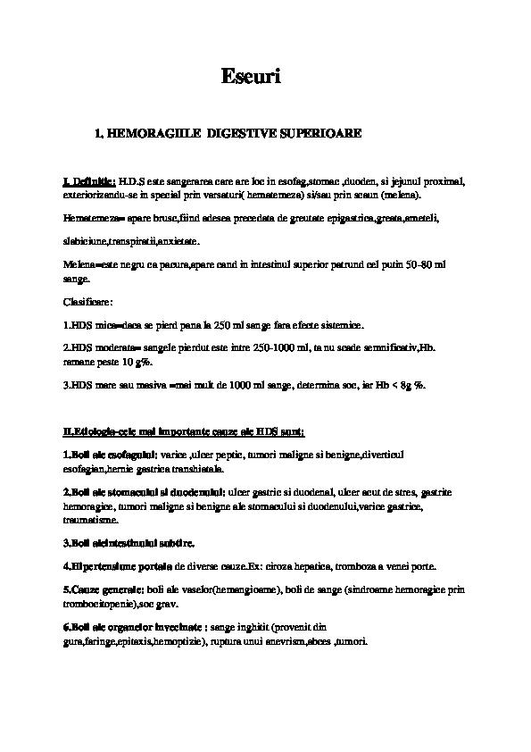 Varice gastrice - Gastric varices - 10pentrubruxelles.ro