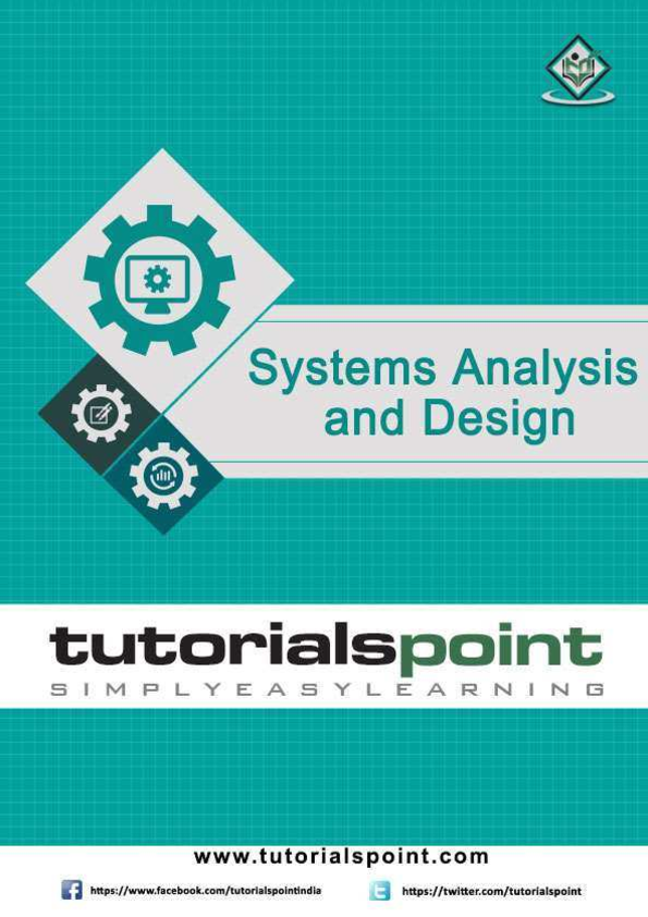Pdf System Analysis And Design Tutorial Md Xiao Academia Edu