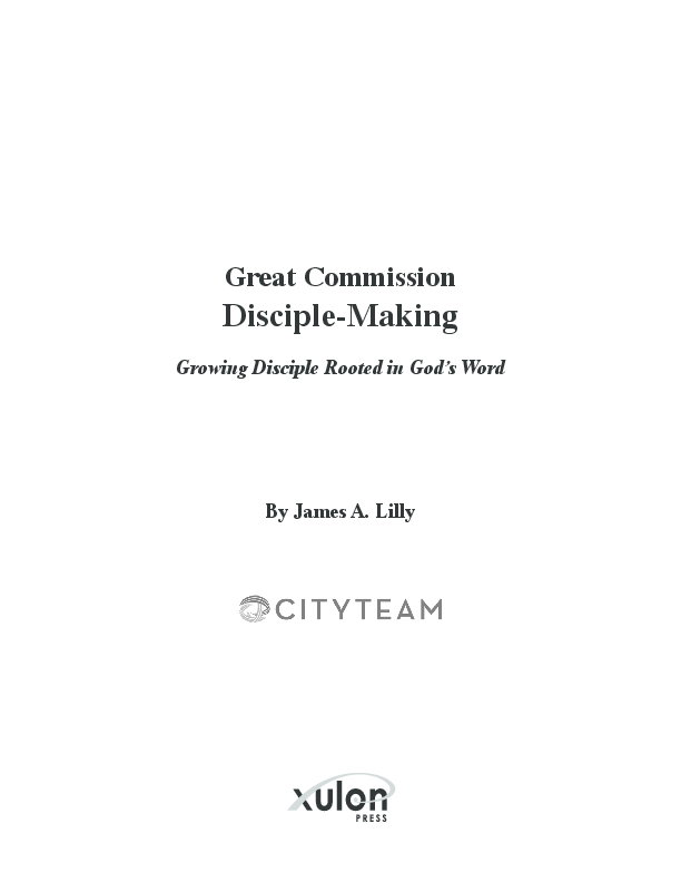 Great Commission Disciple Making Growing Disciple Rooted In Gods