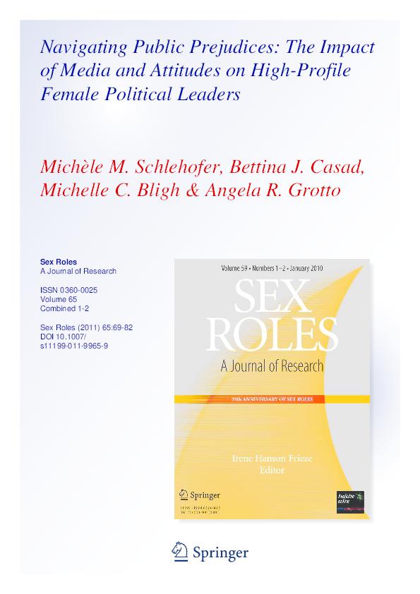 Sex roles journal pdf