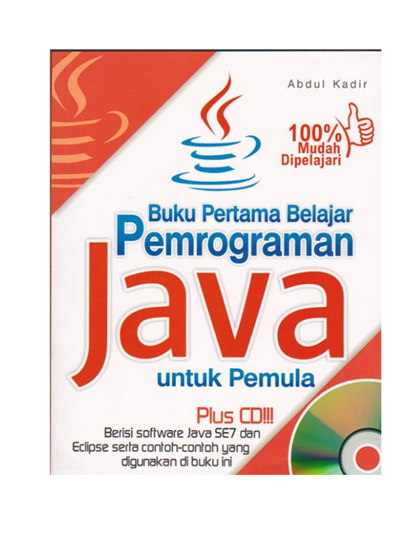 Buku Pertama Belajar Pemrograman Java untuk Pemula   abdul kadir - Academia.edu