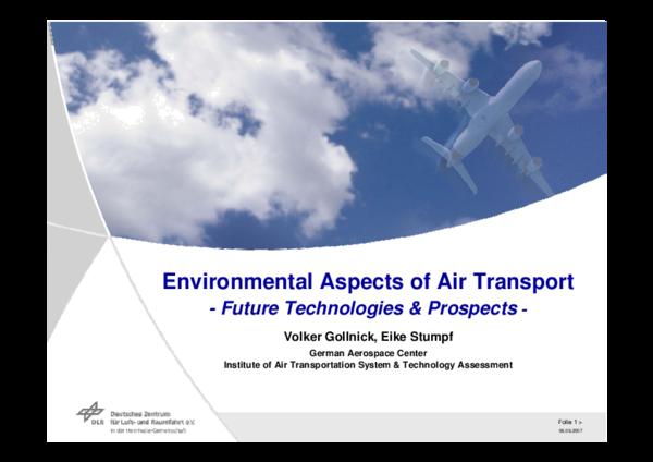 PDF) Enviromental Aspects of Air Transportation - Future