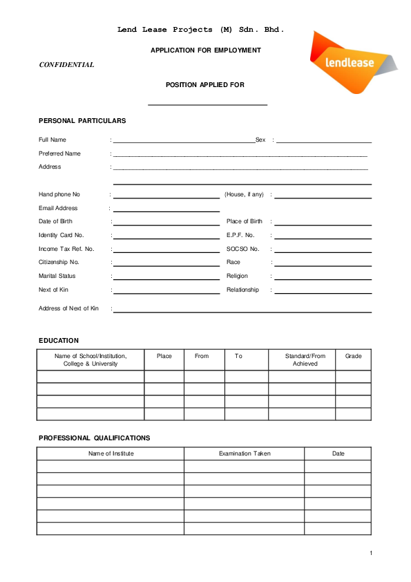 Application Job Form Malaysia [Siaya County] on job application nasa, job application jpeg, job application pdf, job application microsoft word, job application ca, job application red, job application template, job application ppt, job application doctor,