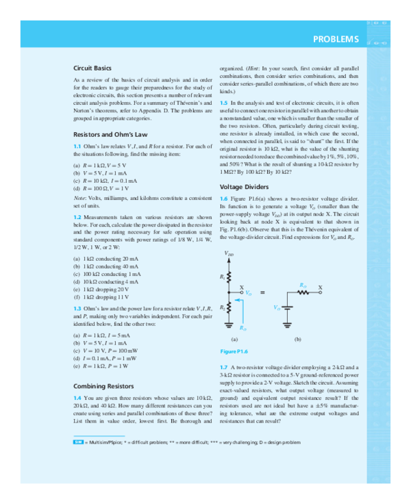 pdf) problems circuit basics as a review of the basics of circuit
