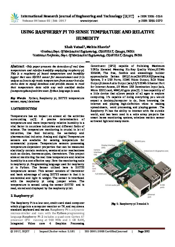 Raspberry Pi Introduction Pdf