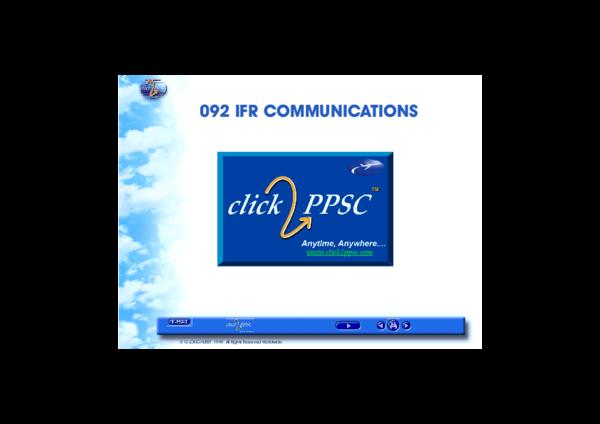 PDF) 092 IFR Communications (JAA ATPL theory).pdf | Rico Prodl ...
