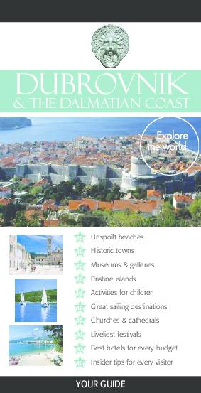 Pdf Dubrovnik And Dalmacija Travel Guide Pdf Matej Budril