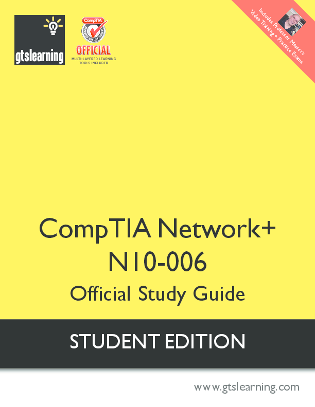 PDF) CompTIA Network+ N10-006 Official Study Guide STUDENT