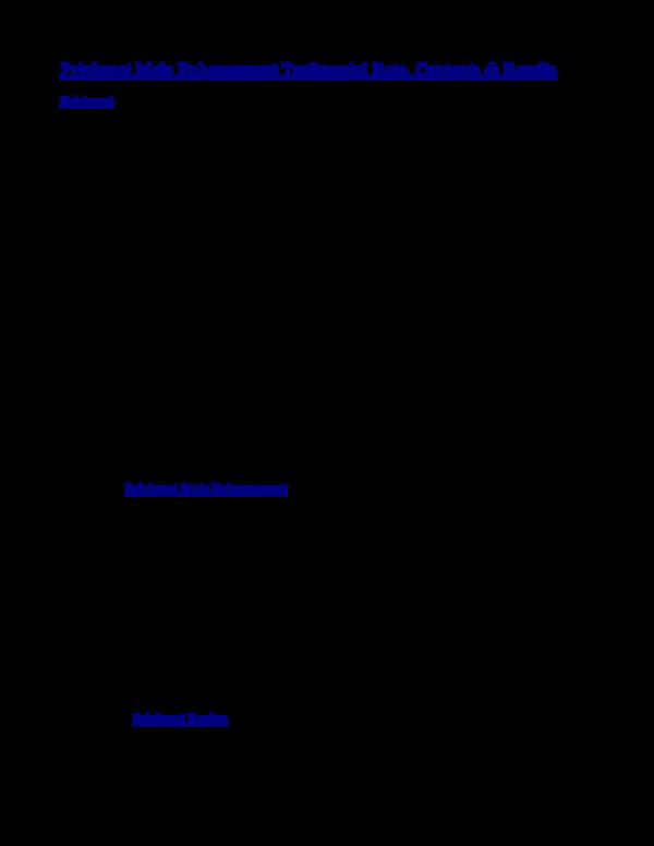 Pdf Priaboost Male Enhancement Testimonial Rate Contents