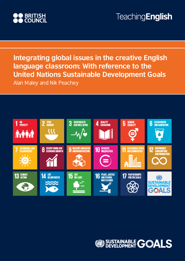 PDF) Using the Sustainable Development Goals in the English