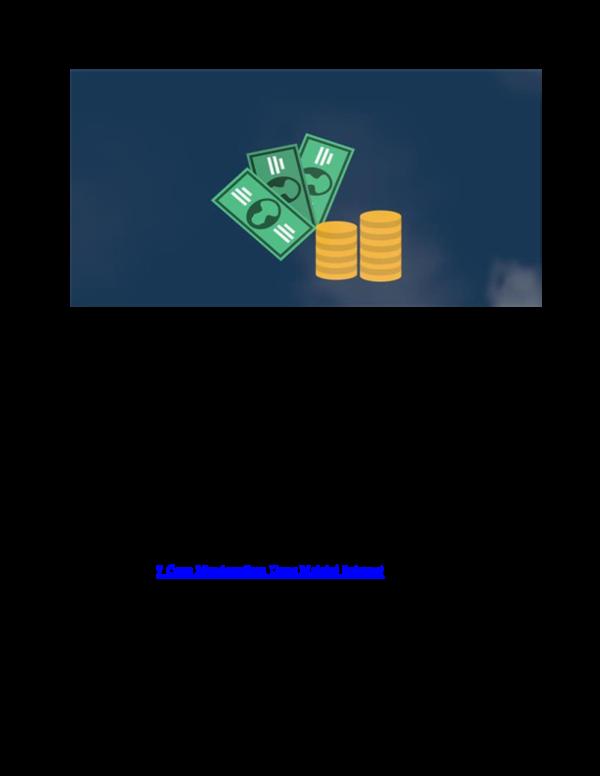cara mendapatkan uang banyak melalui internet