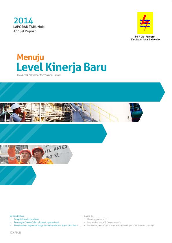 Pdf Pln Annual Report Nyssa Adi Academia Edu