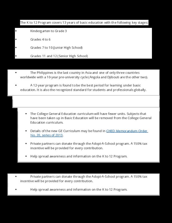 DOC) K-12 curriculum | Rosehur-Chelsea Lim - Academia edu