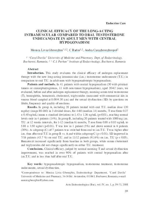 PDF) Clinical Efficacy of the Long-Acting Intramuscular
