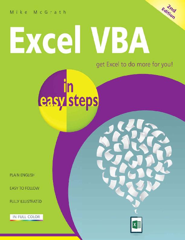 PDF) Excel VBA in easy steps - Mike McGrath | Liviu Popovici