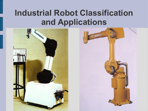 PDF) Industrial Robot Classification and Applications | Χρήστος Αζάρ