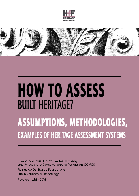 PDF) 'How to Assess Built Heritage Assumptions