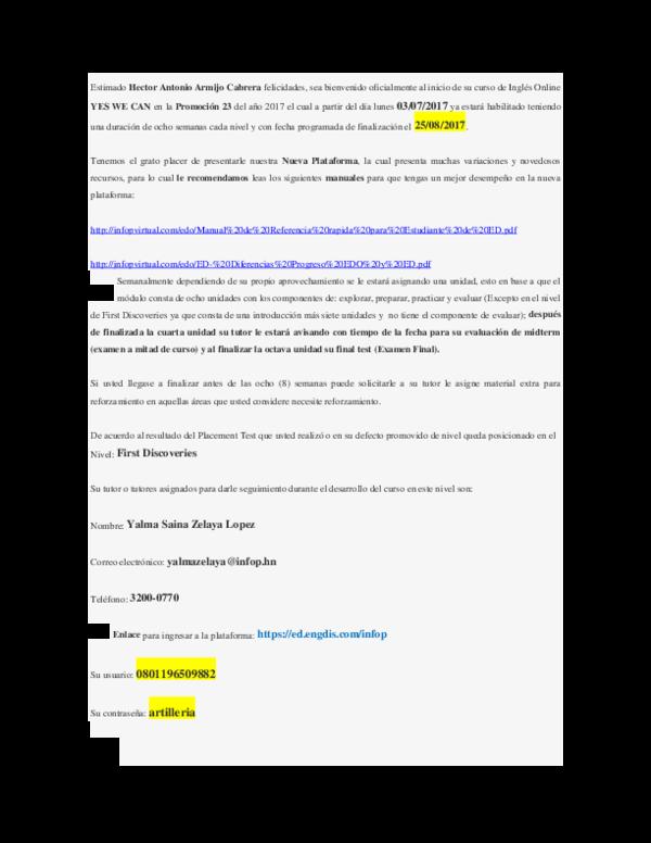 Doc Informacion Curso De Ingles Antonio Cabrera Academia Edu