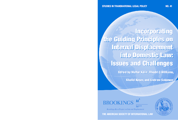 PDF) Incorporating the Guiding Principles on Internal