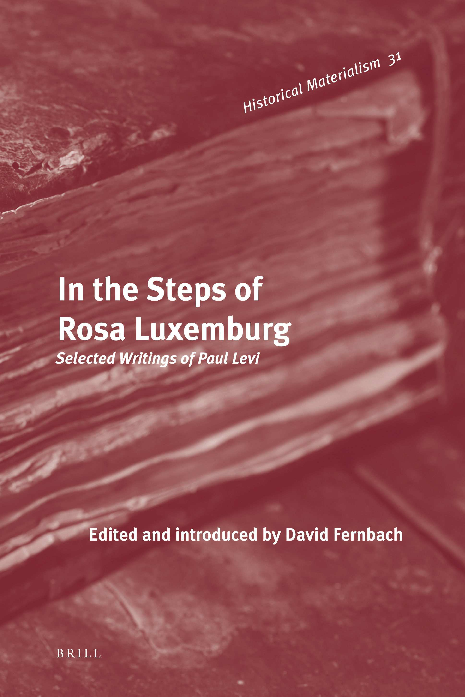 PDF) In the Steps of Rosa Luxemburg (Historical Materialism Book ...