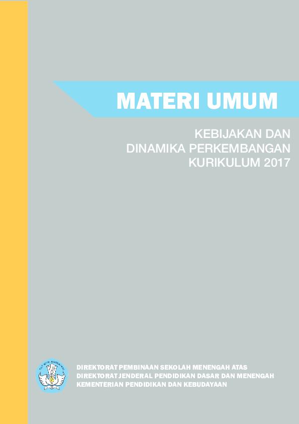 Pdf Cover Modul Materi Umum Mira Olivia Hr Academia Edu