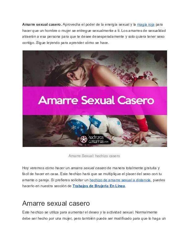 Pdf Amarre Sexual Casero Enrique Borja Academiaedu