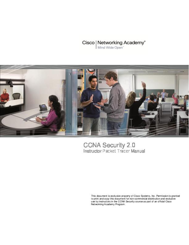 PDF) CCNA Security 2 0 | Bill Betatest - Academia edu