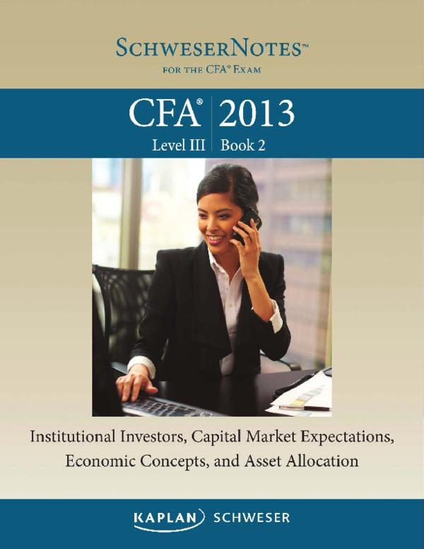 PDF) 2013 CFA Level 3 - Book 2 pdf   Raheel Ahmad - Academia edu