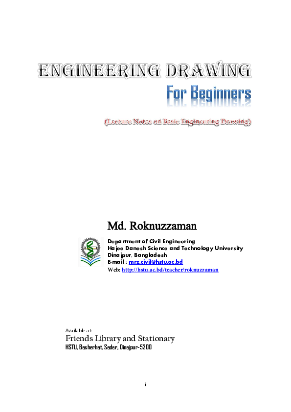 Pdf Engineering Drawing For Beginners Md Roknuzzaman Academia Edu