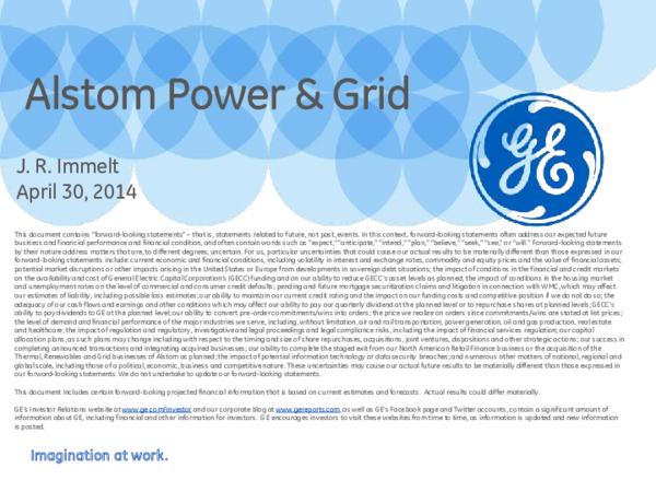 PDF) Imagination at work  Alstom Power & Grid   Alfredo