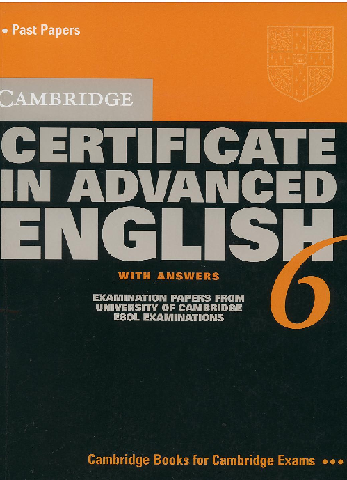 PDF) Cambridge Certificate in Advanced English | jorge