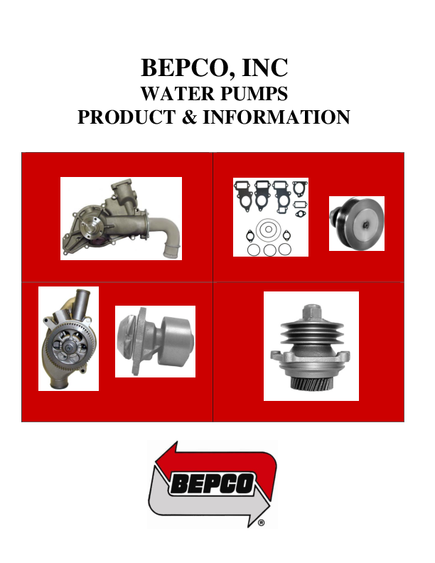 PDF) BEPCO, INC WATER PUMPS PRODUCT & INFORMATION | maurits stevanoh