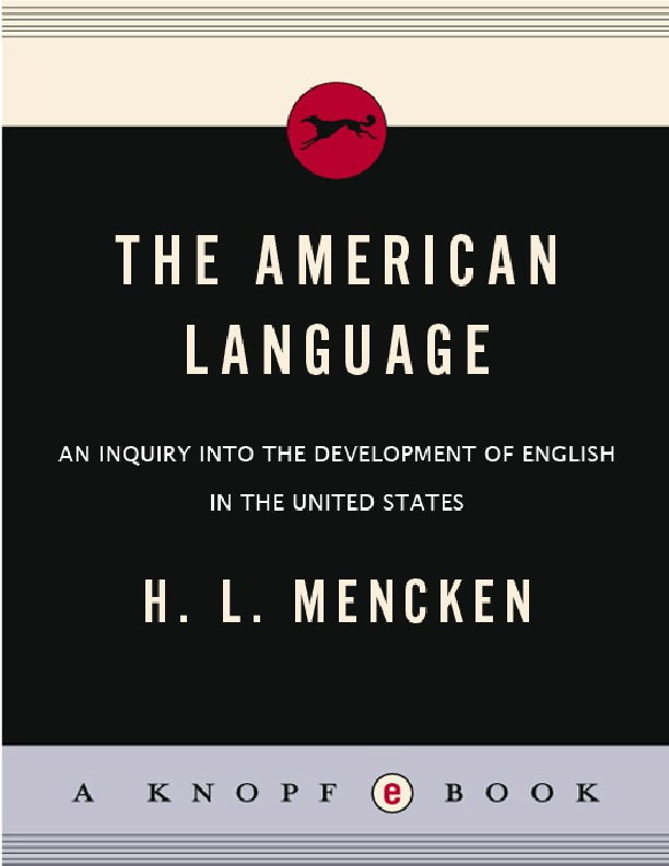 PDF) The American Language | Mohammed Nasser - Academia edu