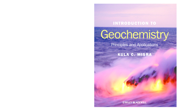 PDF) Introduction to Geochemistry | Chirag Sharma - Academia edu