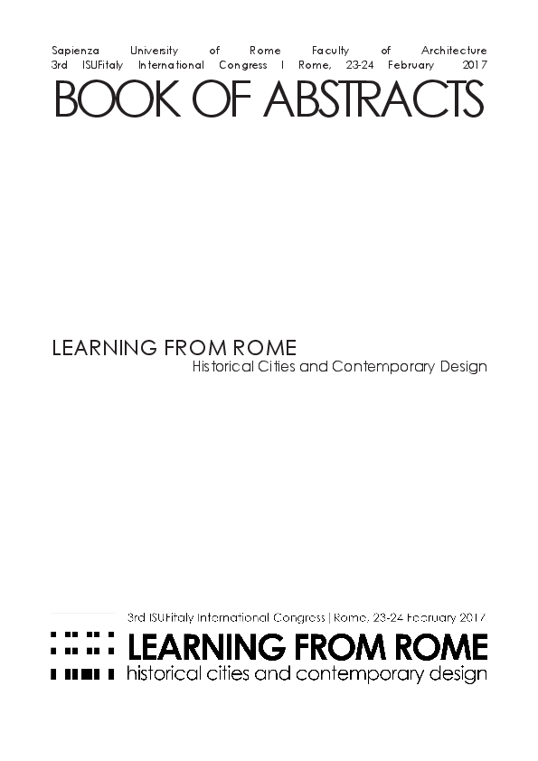 Pdf Learning From Rome Historical Cities And Contemporary Design