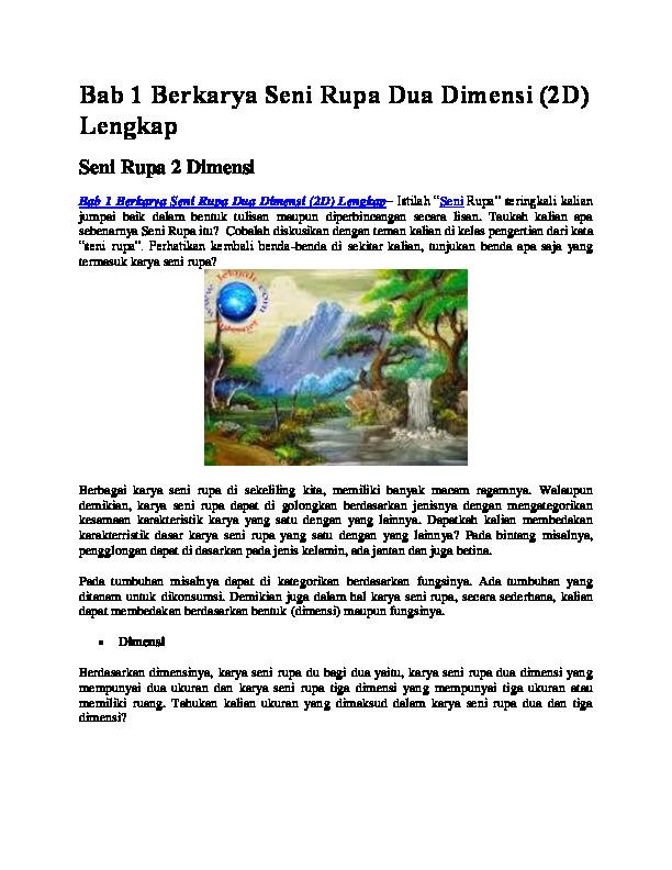 700+ Gambar 2 Dimensi Dan Fungsinya HD Terbaru
