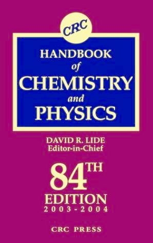 PDF) Handbook of Chemistry and Physics 84th - David R Lide