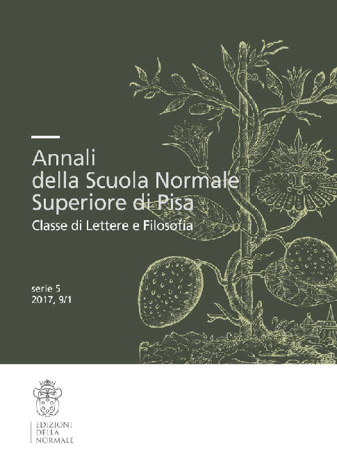 """(PDF) L'esordio della celebrazione di Giotto, in """"Annali ..."""