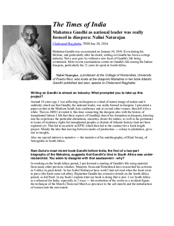 Why I Assassinated Mahatma Gandhi Pdf