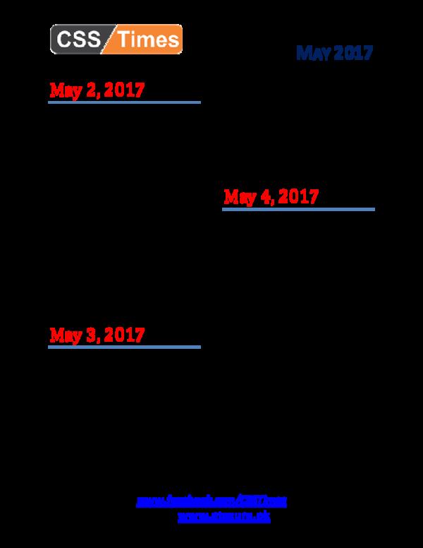 PDF) DAY BY DAY CURRENT AFFAIRS MCQS | Rabia Bhutto - Academia edu