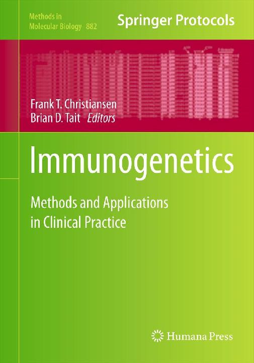 PDF) 2012 Spierings Immunogenetics book.pdf | Eric Spierings ...