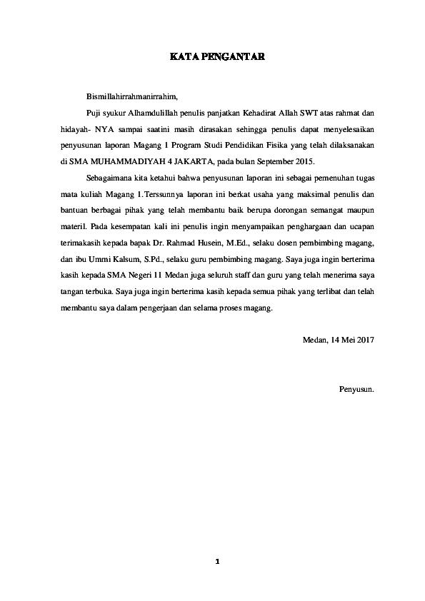 Doc Laporan Magang 1 Pendidikan Bahasa Inggris Di Sma Negeri 11 Medan Docx Fajar Fadli Academia Edu