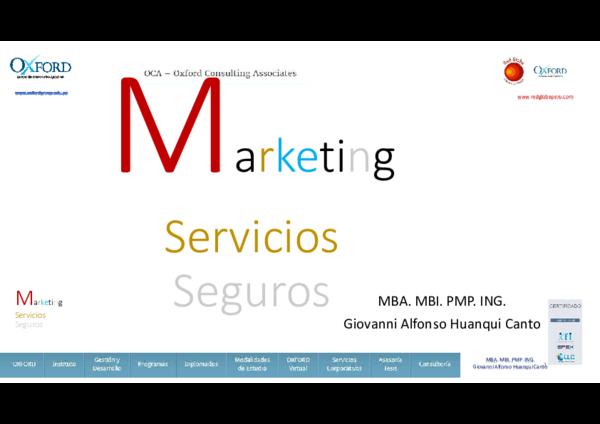 PDF Marketing De Servicios En Seguros Giovanni Alfonso